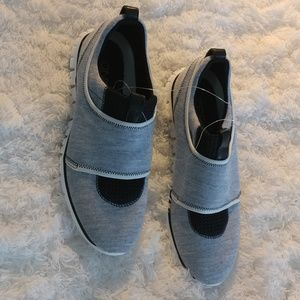 Cole Haan Slip on Sneakers Size 7 Grey and Black